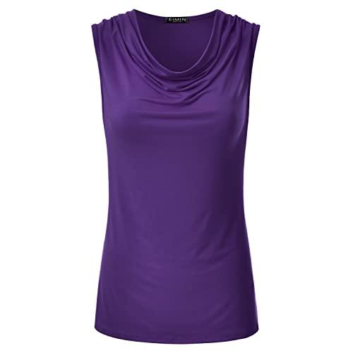 Sleeveless Top Purple: Amazon.c
