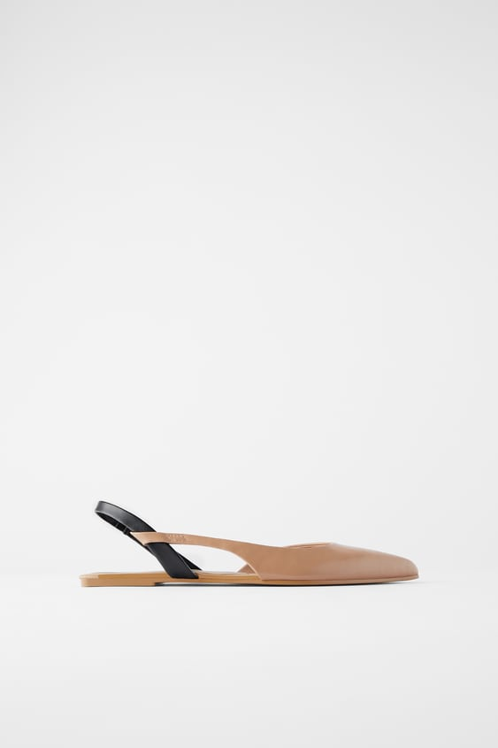 FLAT SLINGBACK SHOES | ZARA Mainland Chi