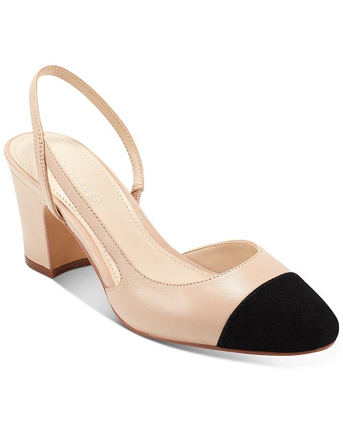 Marc Fisher Laynie Slingback Pumps & Reviews - Pumps - Shoes - Macy