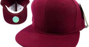 Blank Burgundy Snapback Hats Caps Wholesale - Burgundy Sol