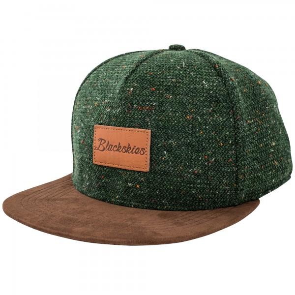 Obsidian Snapback Cap - Green-Brown - Blackskies Online Shop .