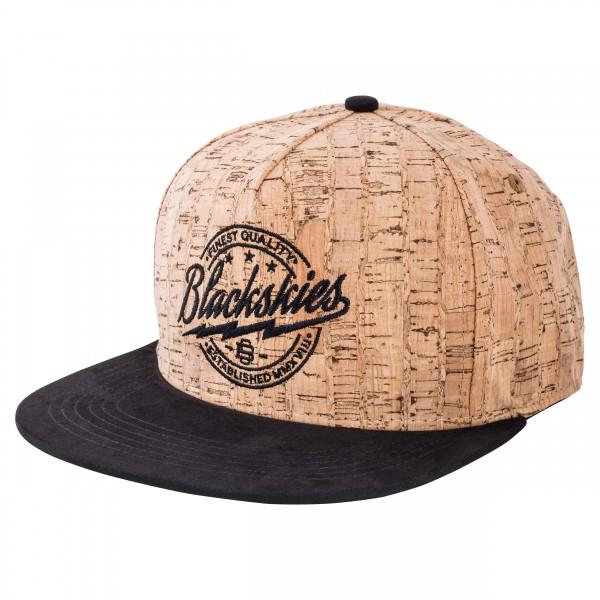 Force of Nature Snapback Cap - Cork-Suede - Blackskies Online Shop .