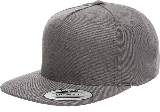 5089M Premium 5 Panel Snapback Caps - 1 Dozen | The Hat Pr