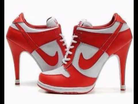 Sneaker high heels fashion shoes - YouTu