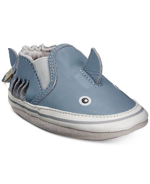 Robeez Baby Boys Sebastian Shark Soft Sole Shoes & Reviews - All .