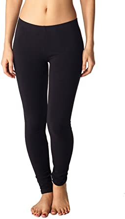 Amazon.com: In Touch Womens Cotton Spandex Leggings: Buttery Soft .