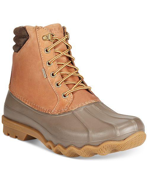 Sperry Men's Avenue Duck Boots & Reviews - All Men's Shoes - Men .