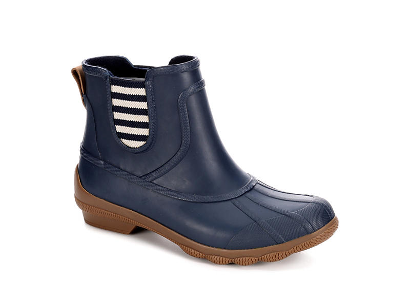 Navy Sperry Womens Syren Cove | Duck Boots | Rack Room Sho