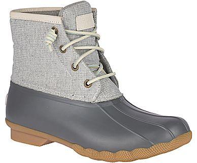 Women's Saltwater Metallic Duck Boot - Rain & Duck Boots | Sper