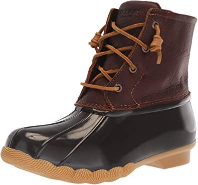 Amazon.com | Sperry Women's Saltwater Rain Boot | Rain Footwe