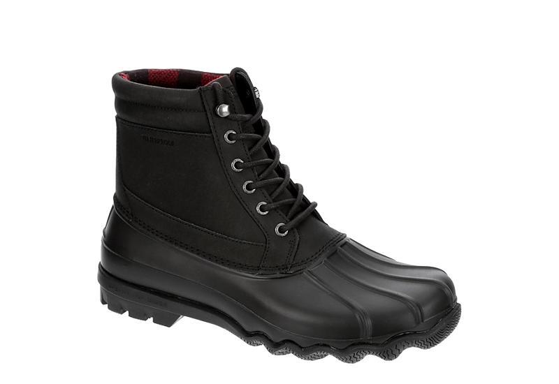 Black Sperry Mens Brewster | Boots | Rack Room Sho