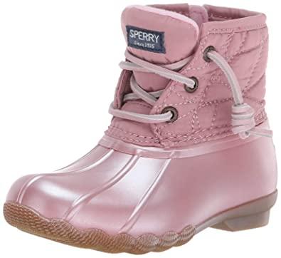 Amazon.com | Sperry Kids' Saltwater Boot Sneaker | Boo
