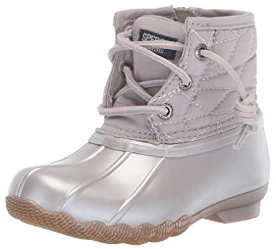 Amazon.com | Sperry Top-Sider Kids' Saltwater Boot Sneaker | Sneake