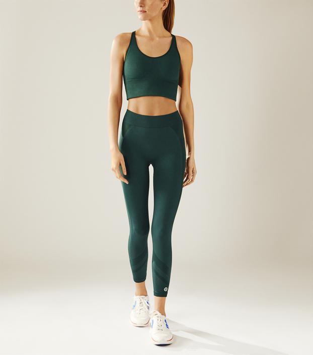 Tory Sport Tonal Seamless Chevron Leggings: Women's Clothing .