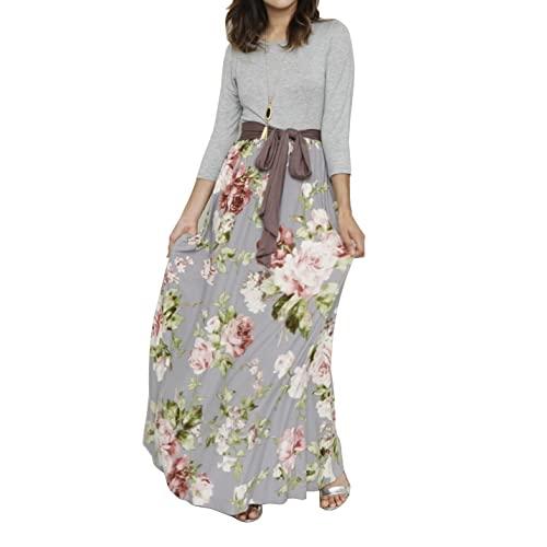 Women's Long Spring Dresses: Amazon.c