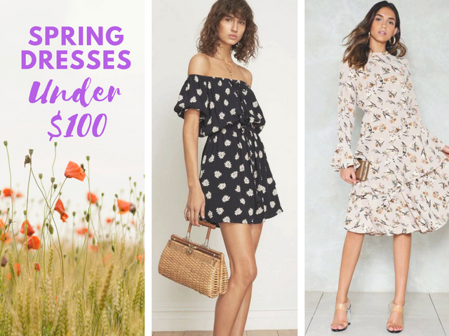 What I Love Right Now: 10 Spring Dresses Under $100 - Beauty Is With