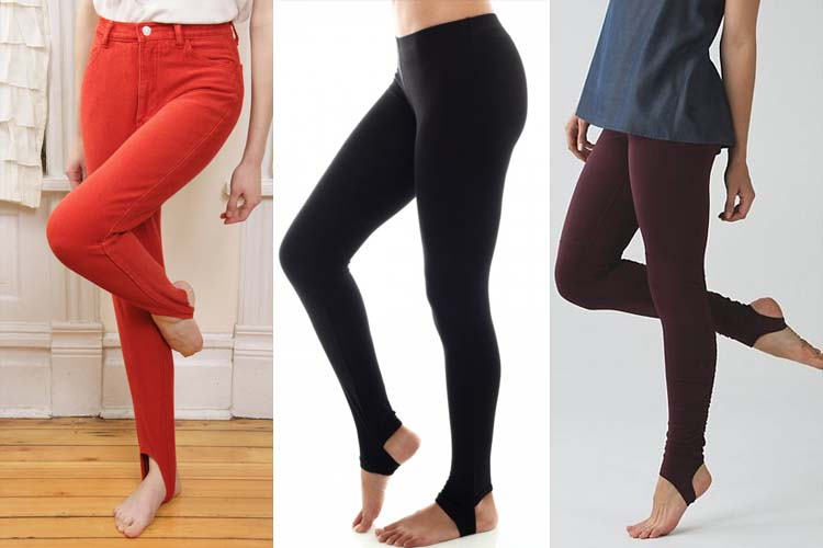 Stirrup Pants Trend - The Surprising Comeba