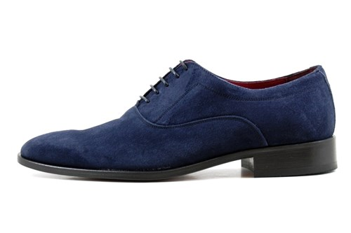 Blue suede shoes | Small Size | Dress Shoes | Stravers Sho