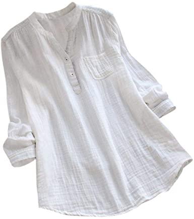 Amazon.com: Summer Tops Shirts,Women Casual Loose T-Shirt Plus .