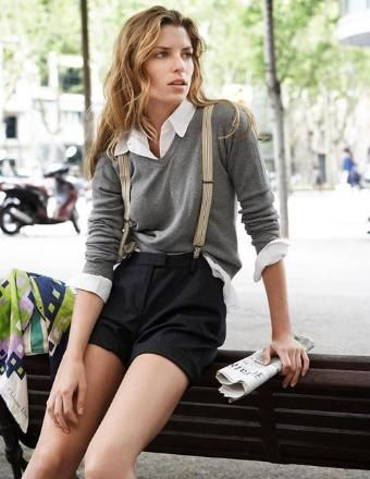 Suspenders for Women: How to Wear? Female Outfits & Style Tips .