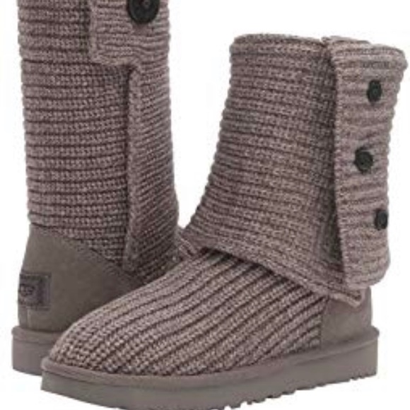 UGG Shoes | Grey Sweater Boots | Poshma