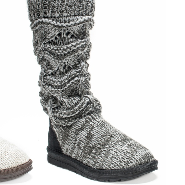 Up To 55% Off on Muk Luks Women's Sweater Boots | Groupon Goo