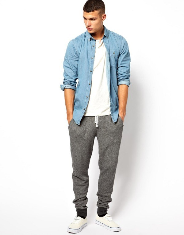 Men's Sweatpants Shoes-20 Shoes To Wear With Guys Sweatpan