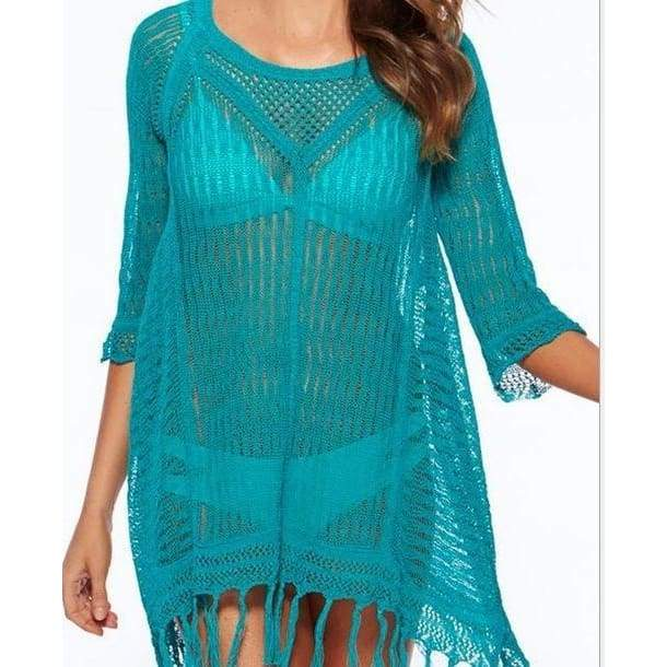 Sexy Swimwear Cover Up Women beach cover up blouse Swimsuit .