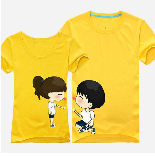 China Newest Fashion Couple T Shirt Printing - China T Shirt .