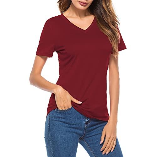 Burgundy T Shirts: Amazon.c