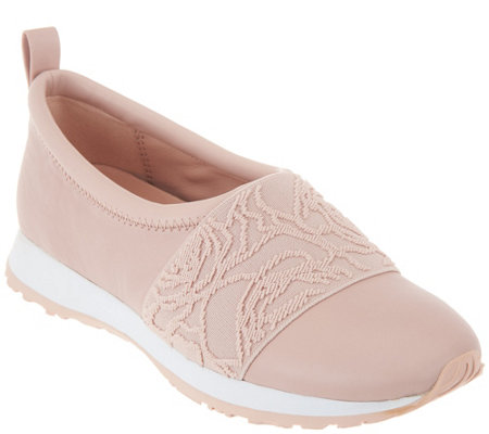 Taryn Rose Leather Slip-on Shoes - Charlotte - Page 1 — QVC.c
