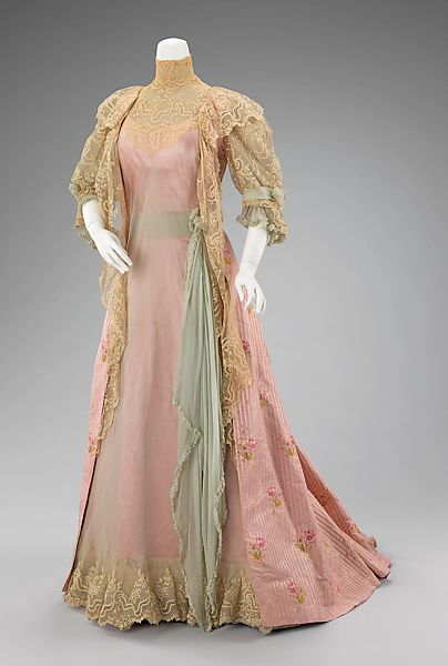 House of Worth | Tea gown | French | The M