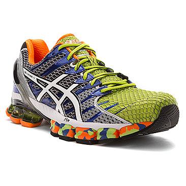 Men's Asics Gel-Kinsei® 4 Lime/White/Royal, Shoes, Boots, Heels .