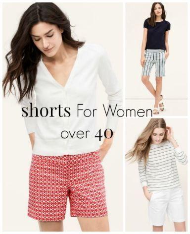 Shorts For Women Over 40 | Fashion for women over 40, Short .
