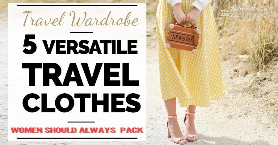 5 Extremely Versatile Mix And Match Travel Clothing Items Women .