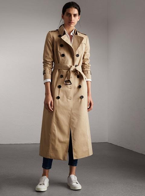 Women's Long Trench Coat | WardrobeMag.c