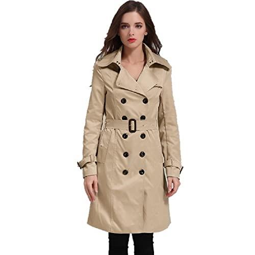 Women's Long Trench Coats: Amazon.c