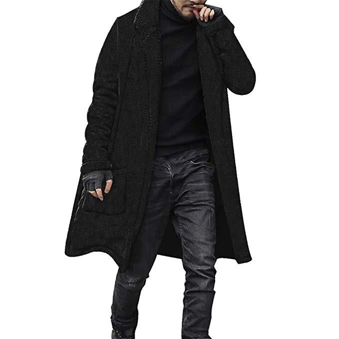 Buy Hot Ice Trench Coat For Men Hat Detachable Autumn Men & New .