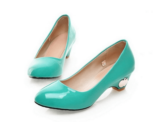 Mission: Wedding Shoes Low Heels | Low heel shoes, Turquoise shoes .