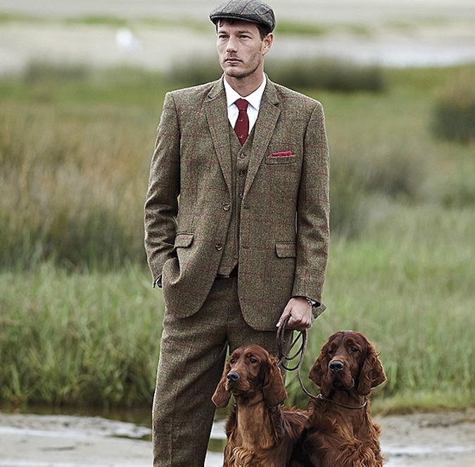 Five ways to look awesome in a three-piece tweed suit   Samuel Winds