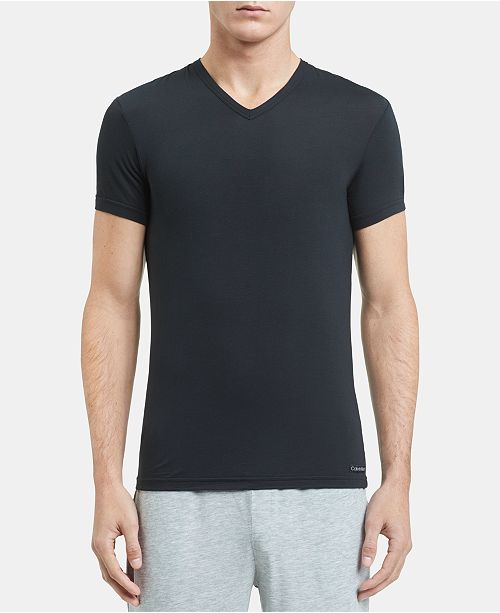 Calvin Klein Men's Ultra-soft Modal V-neck T-Shirt & Reviews .