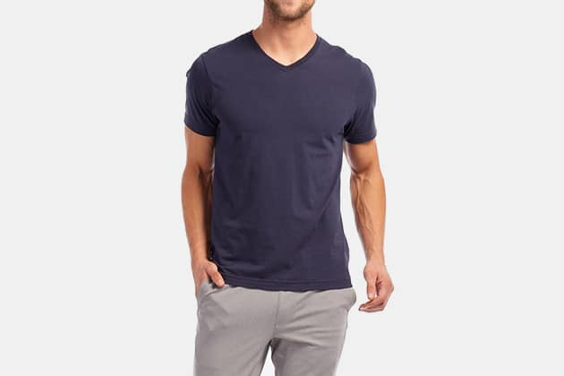 The 20 Best V-Neck T-Shirts For Men | GearMoo