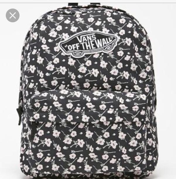 bag, flower vans bag - Wheretog
