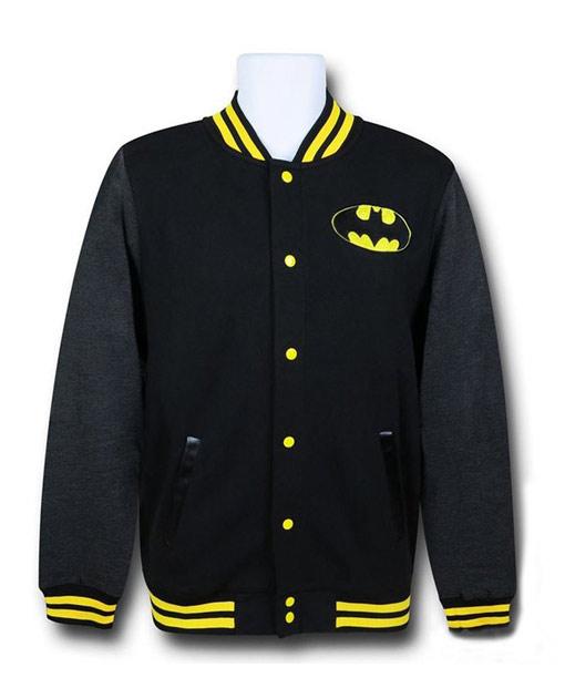 Batman Varsity Jacket With Classic Lo