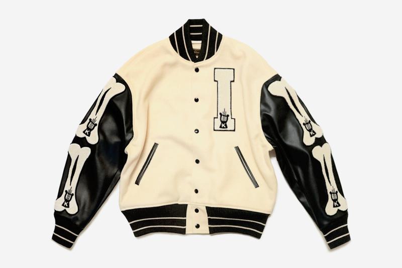 KAPITAL 40s Wool I-FIVE Varsity Jacket   HYPEBEA