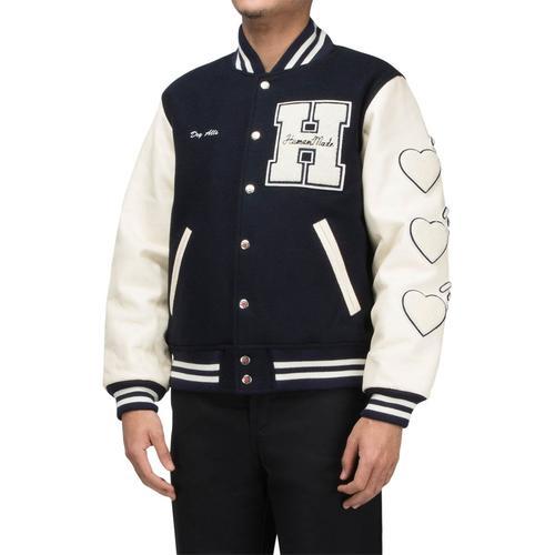 Varsity Jacket Navy – Bode