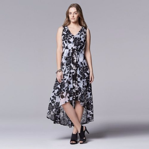 Simply Vera Vera Wang Dresses | Simply Vera Wang Floral Highlow .