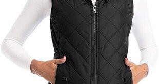 Amazon.com: Art3d Women's Vests - Padded Lightweight Vest for .