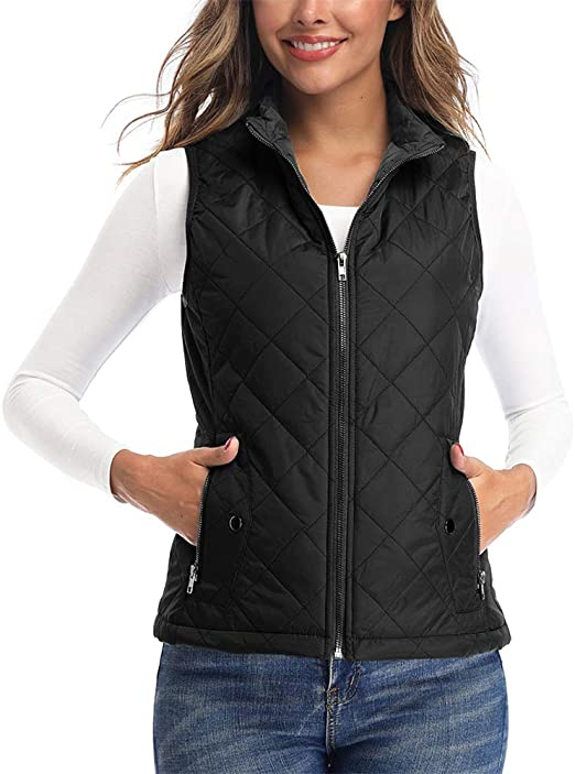 Amazon.com: Art3d Women's Vests - Padded Lightweight Vest for .