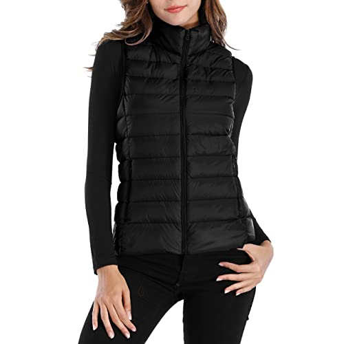 Black Winter Vest: Amazon.c
